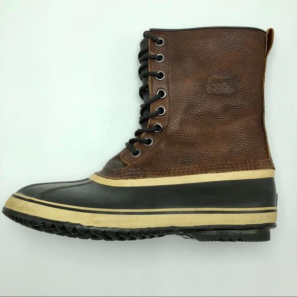 56151ff171a Sorel Men's Premium CVS Winter Boots Waterproof 12